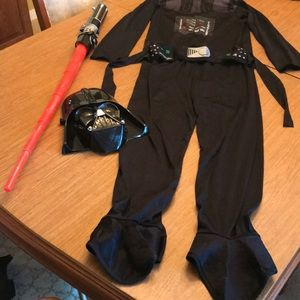 Boy's Size Medium Darth Vador Costume